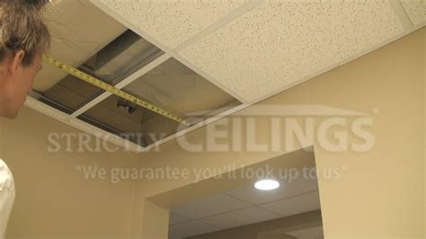 Suspended Ceiling Tiles Installation by Installing Drop Ceiling Tiles Drop Ceilings Installation