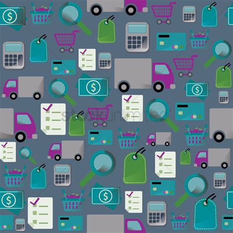 background online shop online shopping theme background vector image 1287526