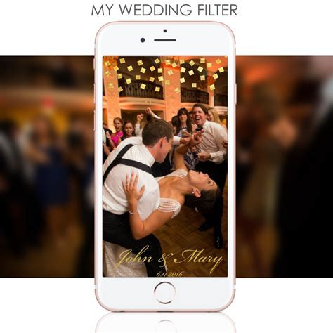 ENTER TO WIN!! Custom Wedding Snapchat Filters from MY