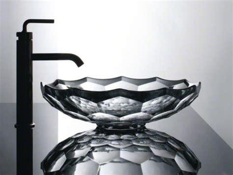 kohler vessels glass above counter briolette vessels glass above counter bathroom sink