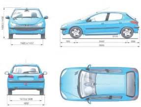 Peugeot 205 Dimensions 187 Fiche Technique Peugeot 206 Rc 2 0l 16s Ess 180 Ch De