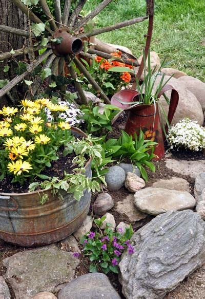 Rustic Garden Ideas Best 25 Rustic Garden Decor Ideas On Rustic