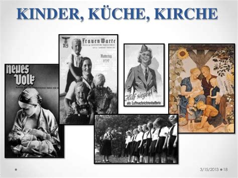 kinder kuche ascens 227 o do nazismo