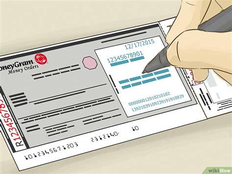 formas de llenar una orden de pago moneygram wikihow