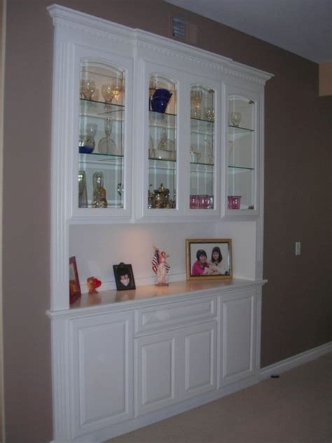 built in china cabinet dining room built in china cabinet custom made a built in china