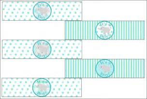 baby shower label template baby shower water bottle labels free template w wall decal