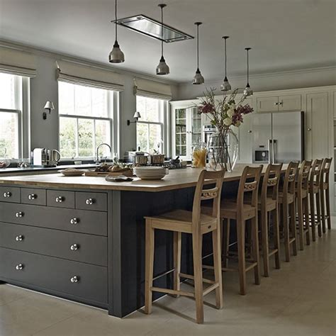 bespoke kitchen islands practical kitchen with bespoke island unit explore this