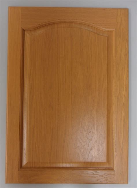 Solid Oak Kitchen Cabinet Doors | 720x495mm solid oak kitchen cabinet door cupboard arched