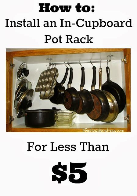 How To Install A Pot Rack 21 best images about pot racks on copper pots pan storage and window treatments
