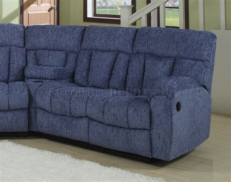blue reclining sofa blue or beige fabric modern 5pc reclining sectional sofa