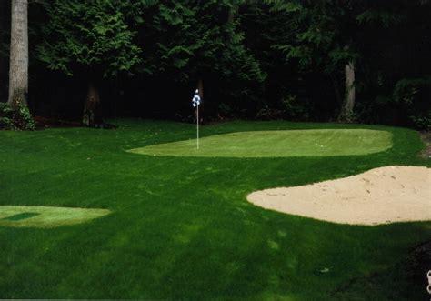 triyae artificial grass backyard putting greens