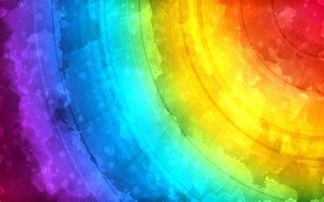 Graphic Design Styles rainbow watercolor