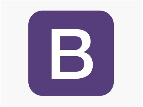 design logo using bootstrap bootstrap logo purple