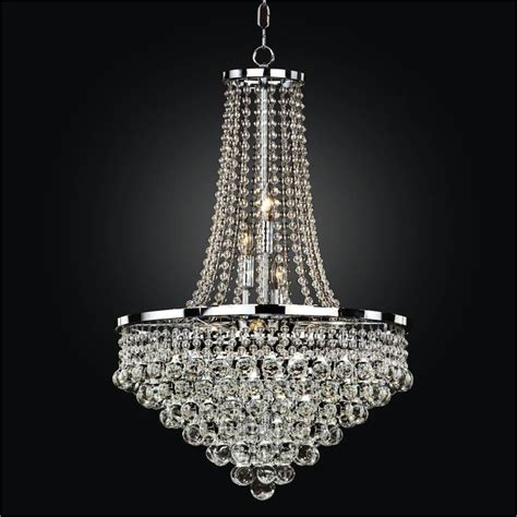 Beaded Chandelier Empire Chandelier Glow Lighting For Chandeliers
