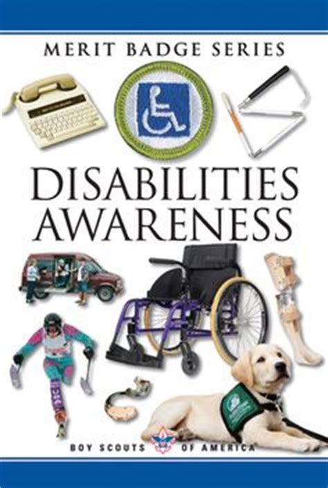 Disability Awareness Merit Badge Worksheet Answers