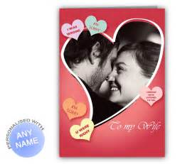 Personalized photo sorry card for wife giftsmate