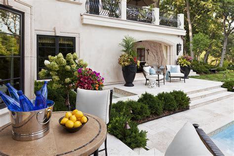 mediterranean backyard landscaping ideas award winning home gets ready for summer