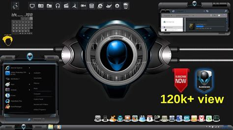 download themes for windows 7 free alienware alienware theme for windows 7 32bit 64bit youtube