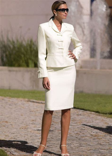 25 best ideas about white skirt suit on