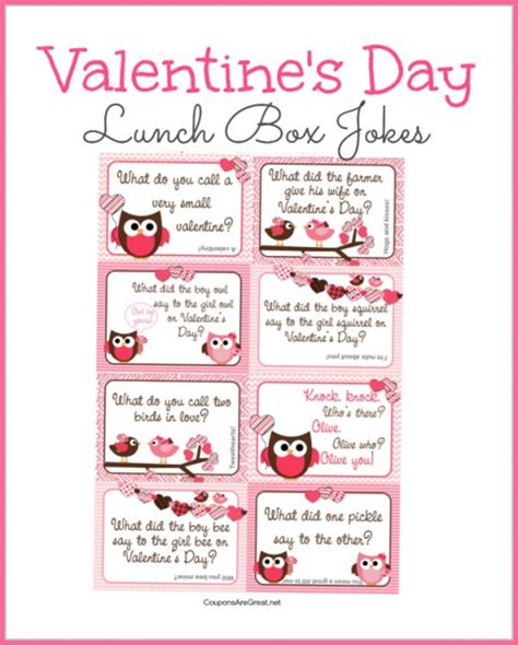 valentines day jokes for valentines day gift for valentines day gifts for books printable s day lunch box notes using valentines