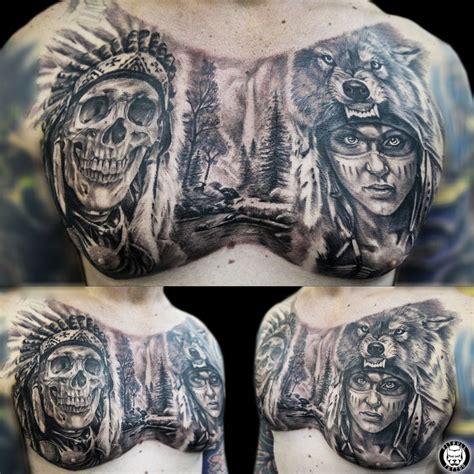 full chest tattoos for men best 25 chest tattoos ideas on mens