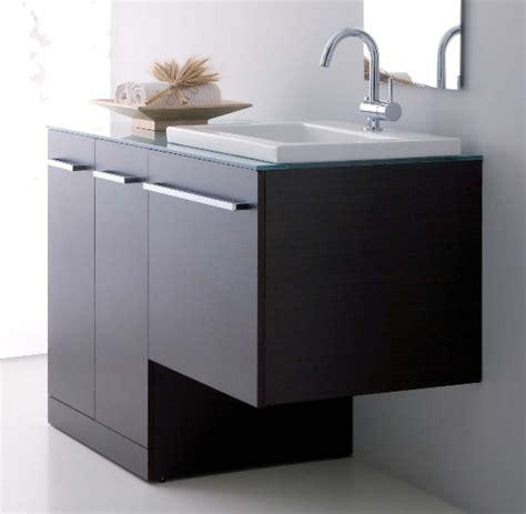 mobile bagno con portalavatrice mobile bagno vip con coprilavatrice e top in cristallo in