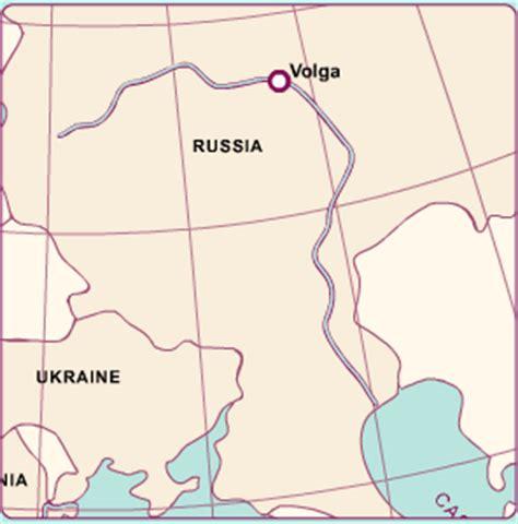 volga river map volga river map