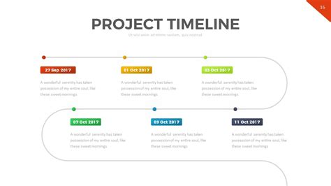Project Timeline Powerpoint Template By Rrgraph Graphicriver Project Timeline Template Powerpoint