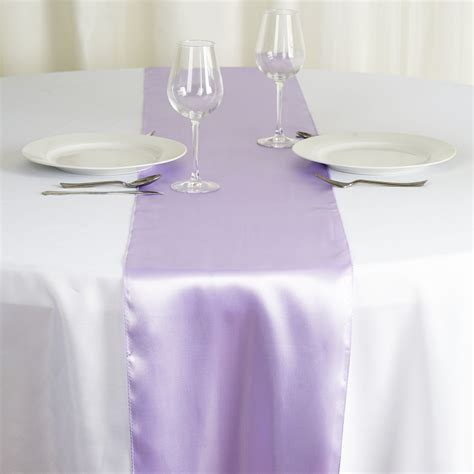 "30 pcs SATIN 12x108"" Table RUNNERS Wholesale Wedding Party"