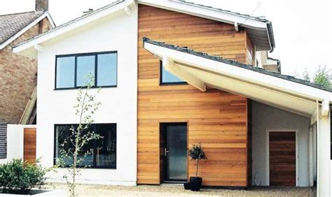 radical redesigns bridge to home building conversions adding cladding for a contemporary look real homes