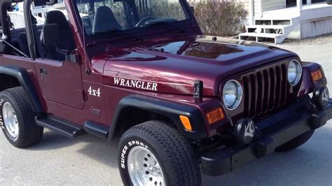 Jeep Wrangler Inventory 2002 Jeep Wrangler Sport 4x4 View Our Current Inventory
