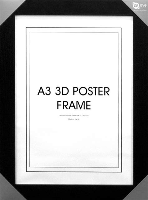 black a3 frame shabby chic distressed wood effect