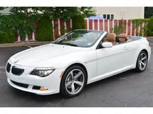 Used Bmw 650i For Sale Used 2008 Bmw 6 Series 650i Convertible For Sale Stock