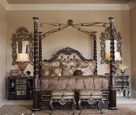 elegant canopy bedroom sets luxurious master bedroom ideas with elegant iron canopy