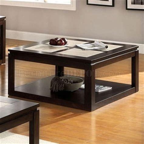 cm4484 verona coffee table in espresso w options