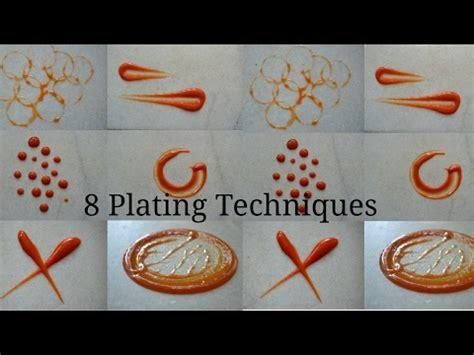 8 simple plating techniques for sauces chef mrugziee