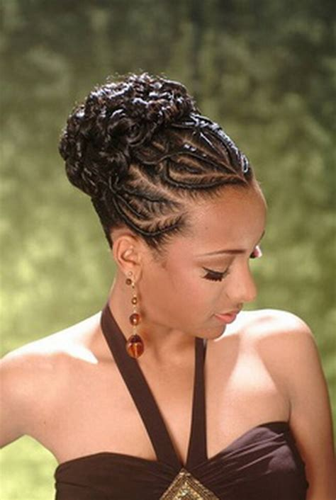African American Updo Braided Styles For My Hair That Is Short On One Side And Long On The Other | african braided hairstyles 2016