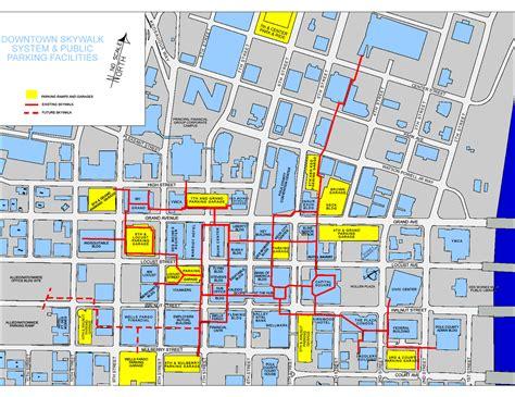des moines des moines skywalks map des moines mappery