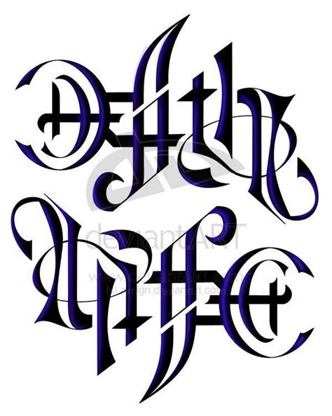 life and death tattoos designs 79 best images about ambigram on keep