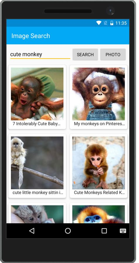 grid layout in xamarin android recyclerview highly optimized collections for android
