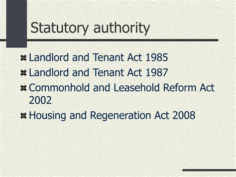 section 22 landlord and tenant act ppt challenging service charges powerpoint presentation