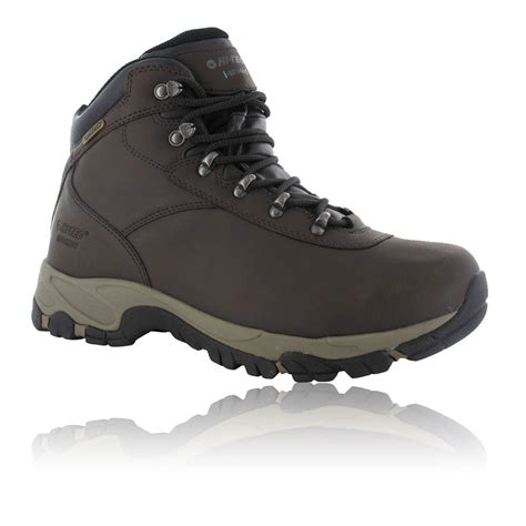 Hi Walk Outdoor Shoes hi tec mens altitude v i brown waterproof outdoors walking