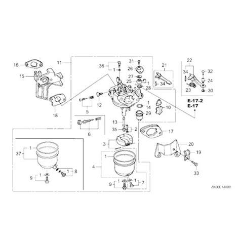 honda gx200 carburetor diagram carburetor for honda gx390 or copy 13hp engines