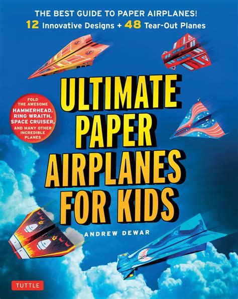 Books On How To Make Paper Airplanes - ultimate paper airplanes for allfreekidscrafts