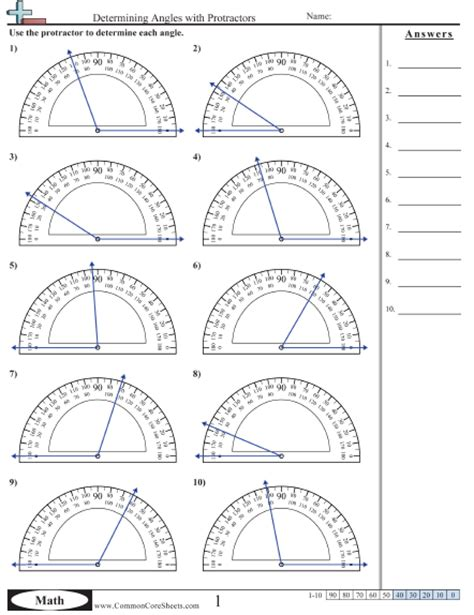 measuring angles with a protractor worksheet pdf printables protractor worksheet eleaseit thousands of printable activities