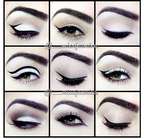 different design styles 17 best images about eyeliner styles on