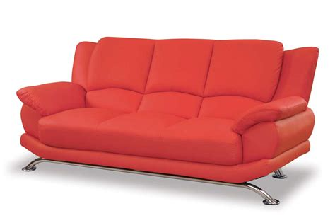 leather sofa red red couches swamijane style