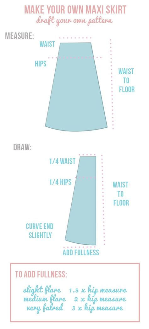 25 best ideas about maxi skirt tutorial on
