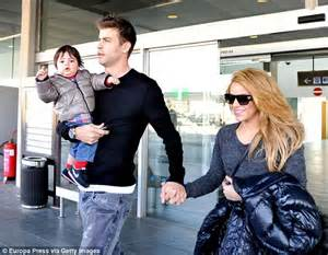 Britbox On Tv shakira hugs and kisses 15 month old son milan in