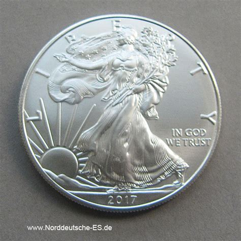 1 oz silver one dollar 2017 usa 1 oz silber american eagle 2017 one dollar silver